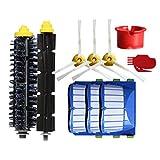 Panamar Accesorios para Robot barredora Inteligente Serie 600 Filtro Accesorios para Limpieza de barredora Inteligente Juego Serie 600