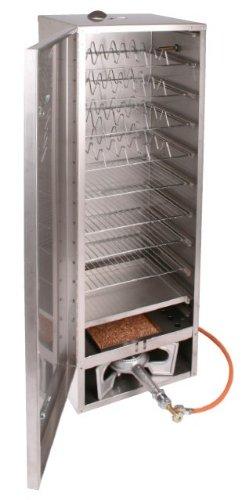Smoki- Räucherofen 150x39x33cm aus 1.4301 V2A-Edelstahl