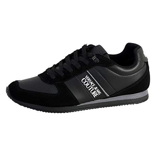 Versace Jeans EOYUBSA1 Sneaker Herren Schwarz - 39 - Sneaker Low