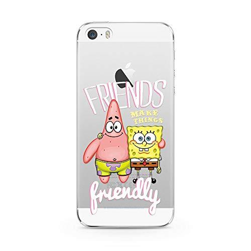 Ert Group NPCSBOB9326 Custodia per Cellulare SpongeBob 022 iPhone 5/5S/SE