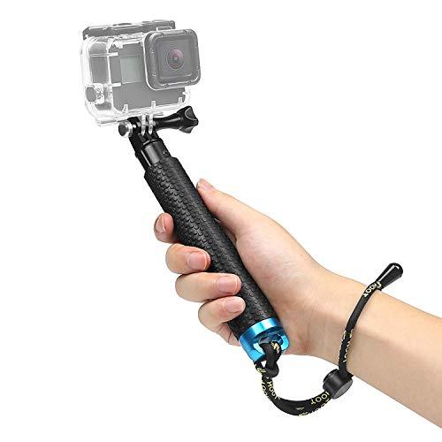 """SHOOT 19"""" Bastone Selfie Telescopico Monopiede Pole per GoPro Hero 8/7/6/5/4/3+/3/HERO(2018)/Fusion DBPOWER Apeman Campark WiMiUS YI CAMKONG e Altre Fotocamere Accessori"""