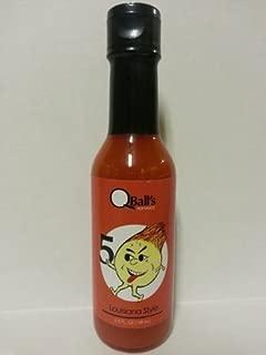 QBALL'S HOTSAUCE: 5 BALL Louisiana Hot Sauce 5 fl oz