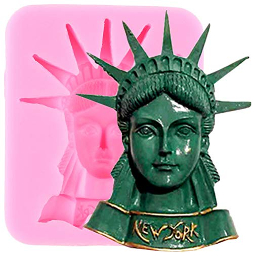 LNOFG 3D Doll Silicone Mold Cake Decoration Tool Candy Chocolate Candy Polymer Clay Resin Mold