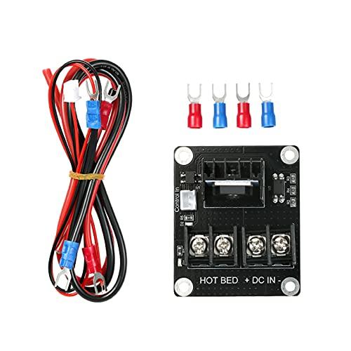 Fesjoy Regolatore di Riscaldamento, Stampante 3D Regolatore di Riscaldamento a focolaio MOSFET a espansione riscaldata a Letto riscaldato Modulo Mos Compatibile per Stampante 3D Anet A8 A6 A2