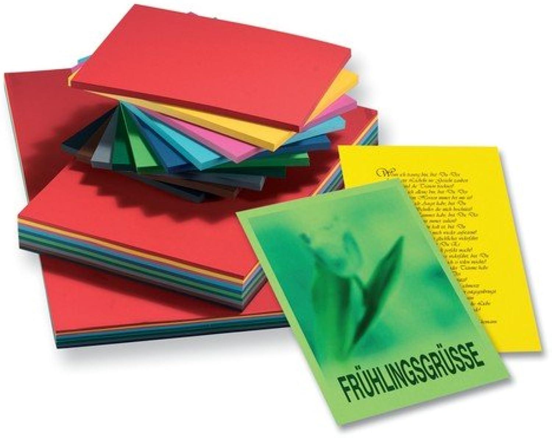 Folia Tonkarton 160g m², glatte Oberfläche, DIN A2, 125 Blatt, 10 Farben, mehrfarbig (1 Stück) B00460L61C   Für Ihre Wahl