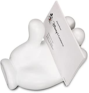 mickey mouse hand business card holder