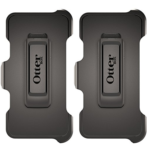OtterBox Holster Belt Clip for OtterBox Defender Series Apple iPhone 6 PLUS / 6s PLUS 5.5' Case - Black - Non-Retail Packaging (Not Intended for Stand-Alone Use) 2-PACK