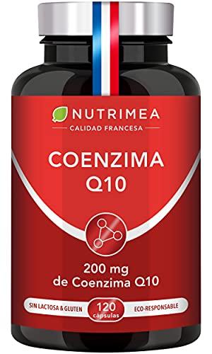 Coenzima Q10 100% Natural   Potente Antioxidante Piel Colesterol   CoQ10 Anti Edad Arrugas Líneas...