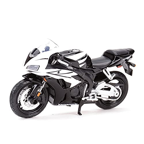 DSWS Motocicleta Miniatura 1:18 para AFRI-CA Twin DCT 1100XX 600F Modelo de vehículo Fundido estático Pasatiempos coleccionables Motociclistas Juguetes (Color : 1)