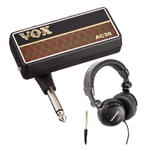 VOX AP2AC amPlug 2 AC30 Guitar Headphone Amplifier with Over-Ear Headphones
