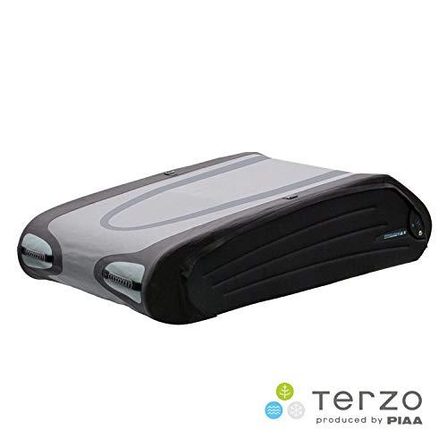 Terzo テルッツォ (by PIAA) ルーフボックス 570L バミューダフレックス ブラック×グレー 両開き 折り畳み...