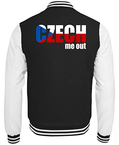 Grappige Czech Me Out - Check Me Out - Tsjechische Republiek Europa EU fan Party - College sweatjas