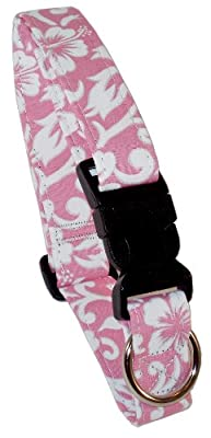 Beach Dog Newport Pet Collar, Small, Pink