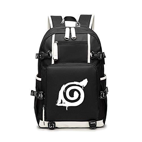 Unisex Naruto Cosplay Anime Mochila Escolar Estudiantes para Portátil Backpack Bolsa