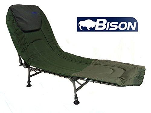 Lit de camp Bison de pêche ou de camping, Bison 6...