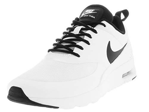 Nike Wmns Nike Air Max Thea, Women's Low-Top Sneakers, White (White / Black-White), 3 UK