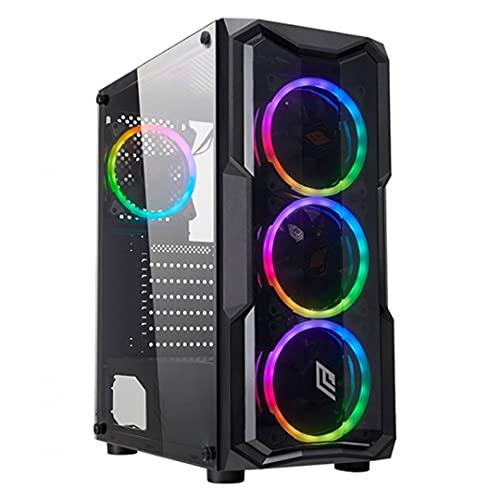 PC Da Gaming Con Case RGB e processore Ryzen 5 - Scheda Video GeForce GTX 1050ti 4GB - Ram DDR4 16GB 3200mhz- SSD M.2 512 GB - Windows 10 Pro