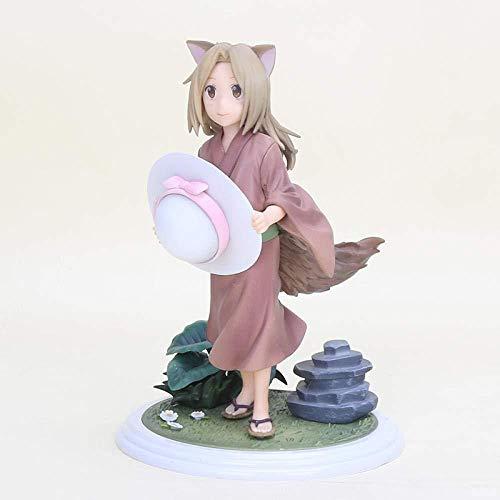 Anime Statue Anime Skulptur 17 Anime Natsume Freunde Konto Little Fox Action Figure 1/7 Zeichnung Little Fox Demon Pvc Brinkos Anime Figur statue