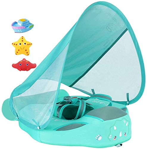 Newest Size Improved Add Tail Never Flip Over UPF50+ Mambobaby Solid Swimming Float Non Inflatable...