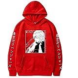 Unisex Anime Tokyo Revengers Mikey Draken Sudadera con Capucha Casual Suelta Harajuku Sudadera Hip Hop Streetwear Pullover Tops