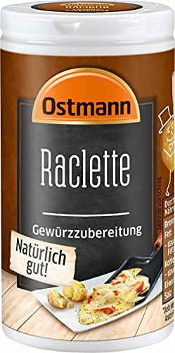 Ostmann Raclette Gewürzzubereitung, 4er Pack (4 x 45 g)