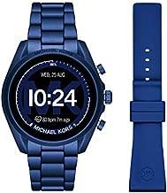Michael Kors Bradshaw 2 Smartwatch Set - Navy Aluminum