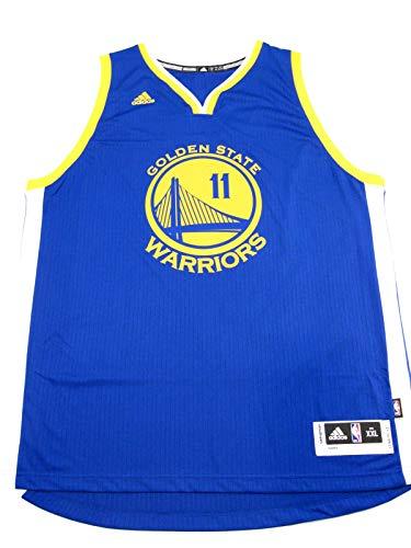 adidas Klay Thompson Men's Blue Golden State Warriors Swingman Jersey X-Large