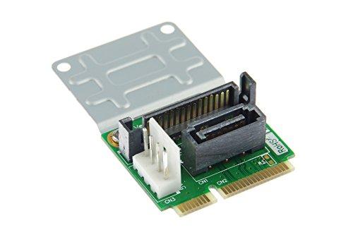 xiny Mini adaptador SATA a SATA 7pines (con cable de interfaz)
