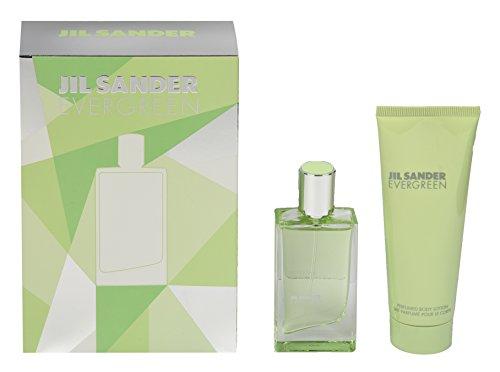 Jil Sander Evergreen Geschenkset (EdT Spray 30ml + Body Lotion 75ml)