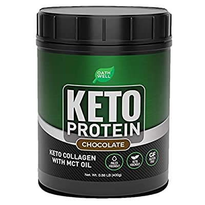 OATHWELL Keto Chocolate Protein Powder Meal Rep...