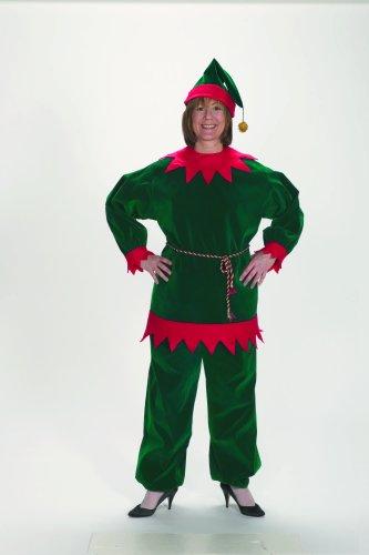 Traditioneel kerstelf kostuum voor volwassenen