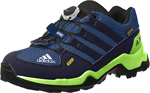 adidas Unisex-Kinder Terrex GTX K CM7704 Trekking- & Wanderhalbschuhe, Blau (Azretr/Maruni/Limsol 000), 33 EU