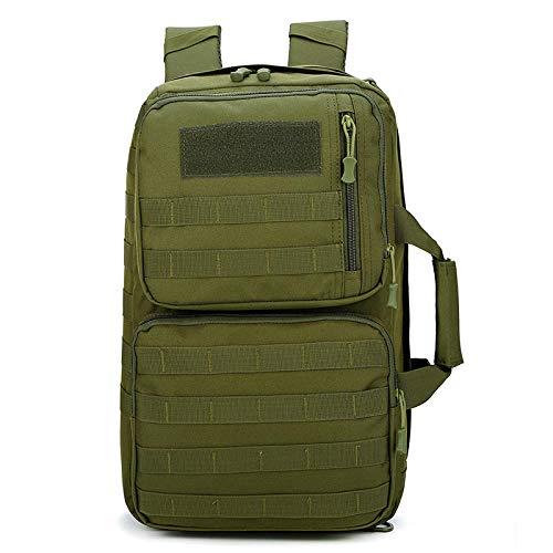militaire rugzak, trekkingrugzak, camouflage, tactische tas voor laptop, mol, camping, sporttas, reizen, Groene Oefening (Groen) - HBP115