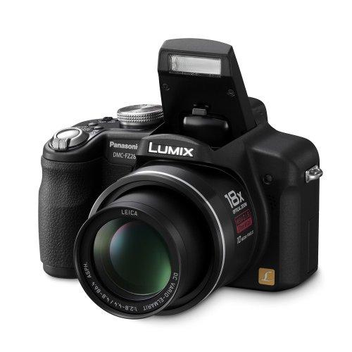 Panasonic DMC-FZ28EG-K Digitalkamera (10 Megapixel, 18-fach opt. Zoom, 6,9 cm (2,7 Zoll) Display) schwarz