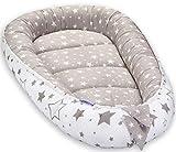 Grand Baby-Nest Cocon pour bébé Réducteur de lit bébé de 0 à 8 mois Réversible...