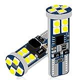 DuaBhoi 12-72V車兼用 T10 LED ホワイト 爆光 ポジションライト 無極性 12連3030チップ 高輝度 W5W 194 168 ルームライト インテリアライト ナンバープレートライト ポーチライト ライセンスランプ デジタルライト 自動車 オートバイ 電気自動車ト 電球 ラック 24V