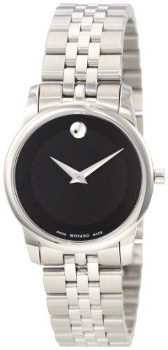 Movado 606505 0606505 - Reloj, Correa de Acero Inoxidable Color Plateado