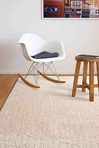 Tappeto moderno molto morbido Privilege beige 80x150 cm - tappeto pelo lungo di microfibra