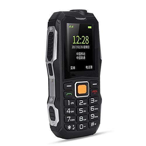 Teléfono Móvil Portátil para los Mayores, Doble Tarjeta SIM y Doble Modo de Espera, 13800 mah Batería de Gran Capacidad para Espera de Súper Larga Duración, Súper Grande Sonido de Altavoz(EU)