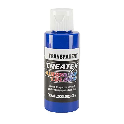 Createx 5107-4Z Createx Ultramarine Blue Transparent Airbrush Color by Createx