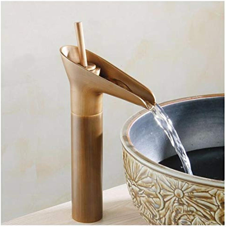 Wasserhahn Küche Bad Garten Waschtischarmaturen Waschtischarmaturen Badezimmer Spültischarmaturen Wasserfall Warmes Und Kaltes Wasser Ctzl2768
