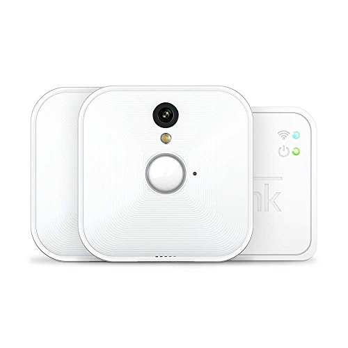 Blink Sistema de cámaras de seguridad (1. Gen) para interiores con detección de movimiento, vídeo HD, 2 años de autonomía y almacenamiento en el Cloud - 2 cámaras