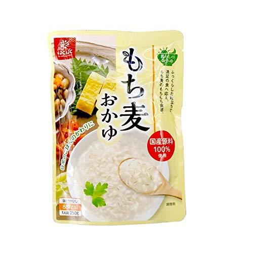 はくばく もち麦おかゆ 250g×1 国産コシヒカリ お粥 レトルトパウチ 暮らしのおかゆ お試し