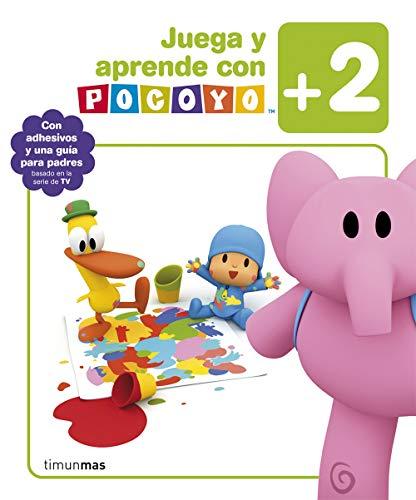 Juega y aprende con Pocoyó (+2): Con adhesivos y una guía para...