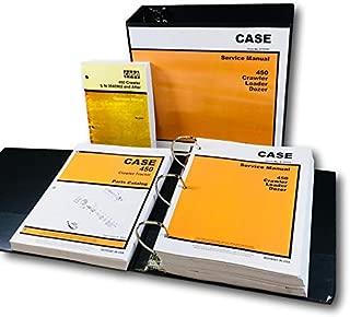 Case 450 Crawler Loader Dozer Service Parts Operators Manual 188 Diesel Engine