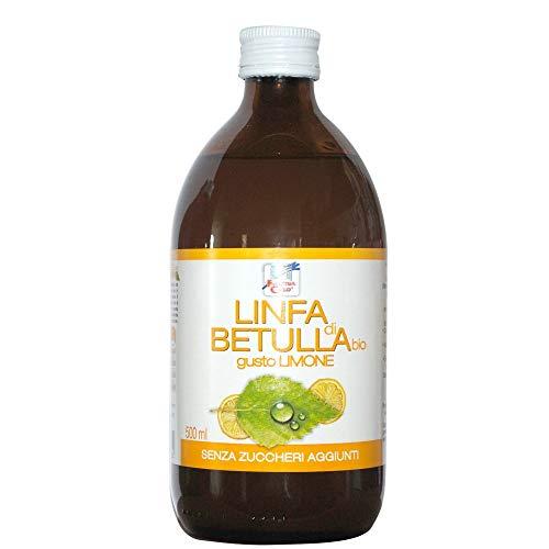 La Finestra Sul Cielo Linfa di Betulla Bio Gusto Limone - 500 ml