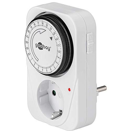 MicroConnect 51276 Analog 24h Timer mit LED-Steuerung, GruTimer