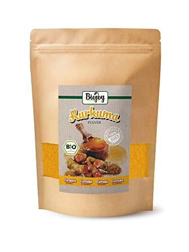 Biojoy BIO-kurkuma, gemalen, kurkumawortel (Curcuma) poeder (0,5 kg)