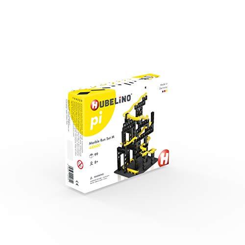 Hubelino 440600 Kugelbahn Set M (99 Teile), Kompatibel