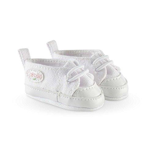 Corolle – FCW21 – schoenen sneaker voor babypop – 36 cm – wit